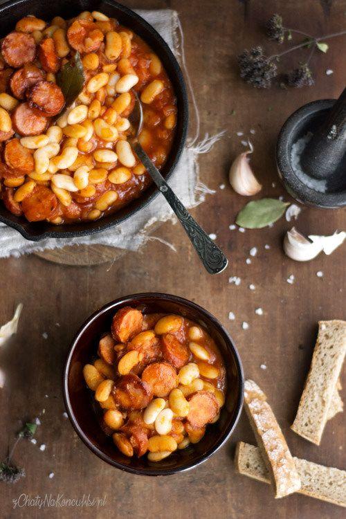 z Chaty Na Końcu Wsi - blog kulinarny. Przepisy, fotografia kulinarna.: FASOLKA PO BRETOŃSKU