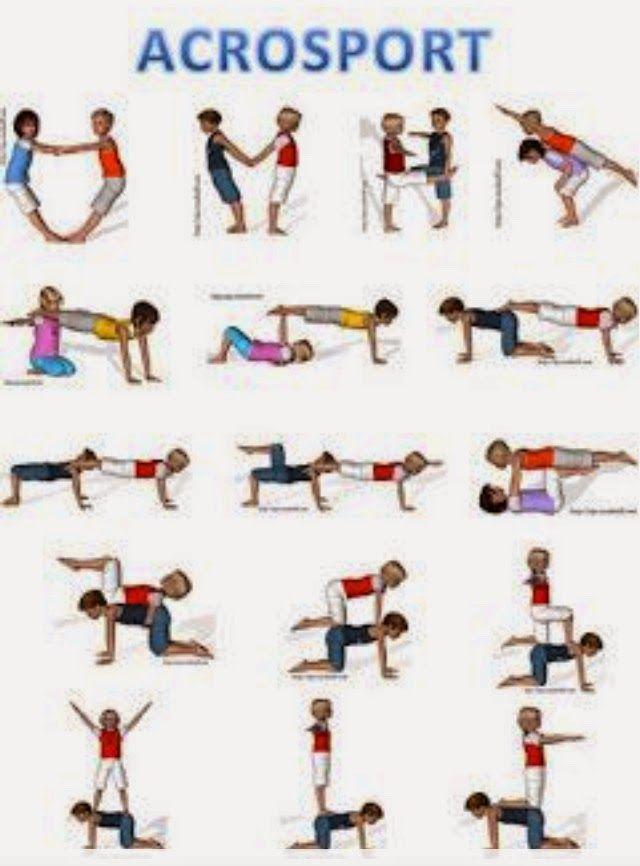 Love Yoga! JOTTE: acrobatiek