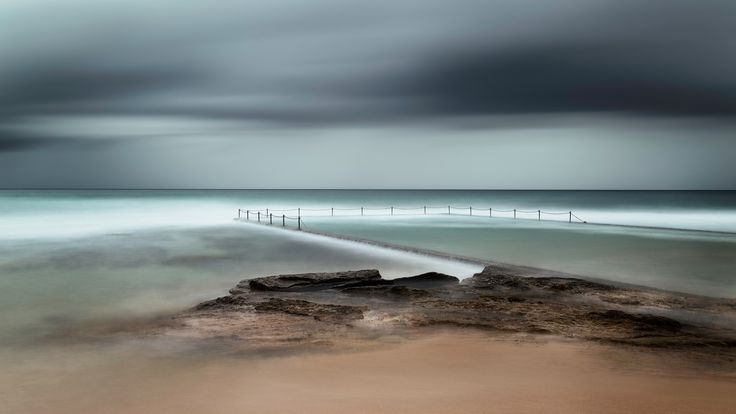 Moody Long Exposure at Cronulla Ocean Pool