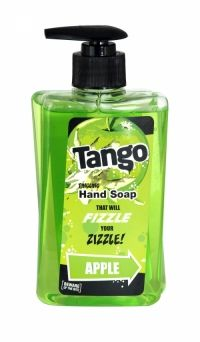 Tango Tingling Hand Soap 350ml Apple Beware of the bite! The tingling hand soap that will fizzle your zingle!