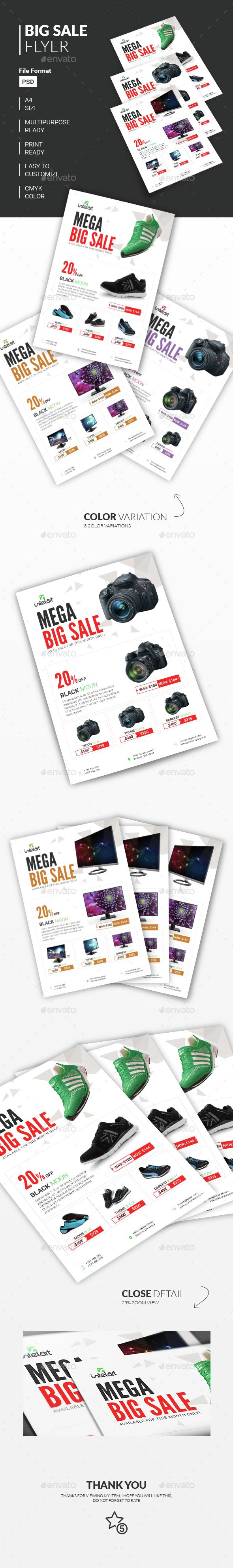 Best Product Promotion Flyer  Commerce  Flyer  Print