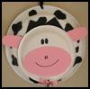 Cow Door Hanger Craft for Kids