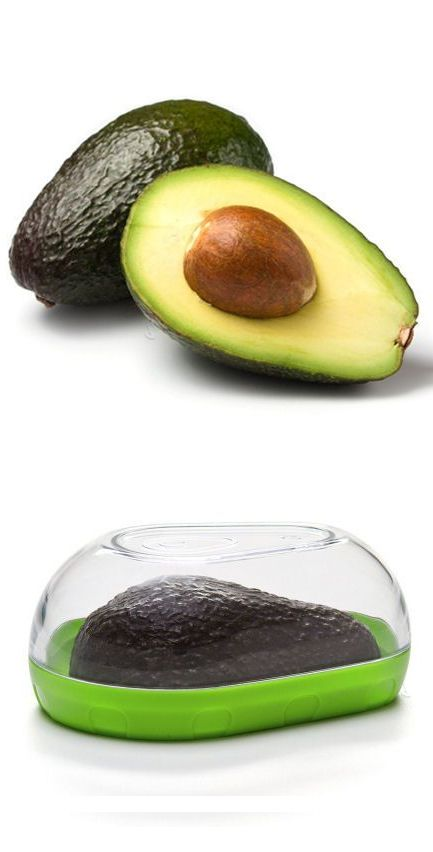 Stay Fresh Avocado Keeper // brilliant! #product_design #kitchen