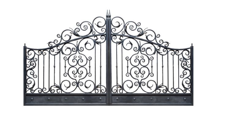Iron Gates - Designed From The Historical Record - 1267IGA