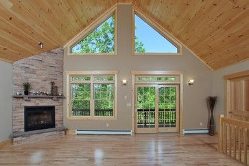20 vaulted ceiling bedroom magzhouse. Knotty Pine Ceiling Design Ideas, Pictures, Remodel and