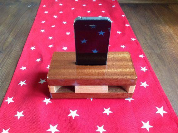 Handmade wooden passive speakers iPhone 4 4s | Cellphone ...