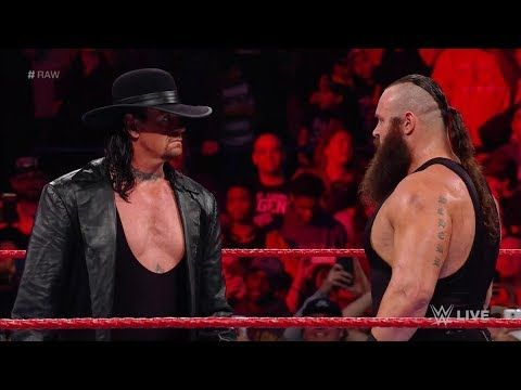 WWE Raw 2 october 2017 - The Undertaker returns & challenges Braun Strow...