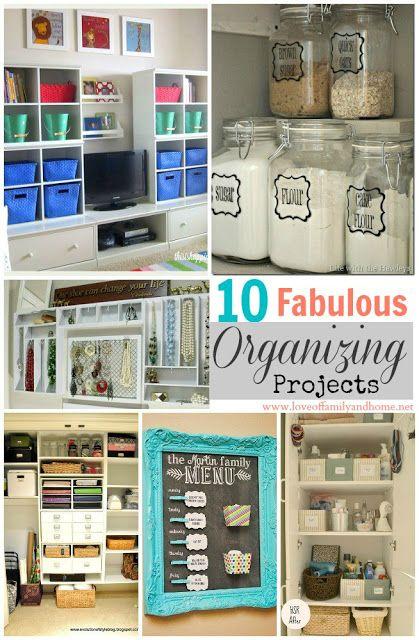 DIY: #10 Fabulous Organizing Projects