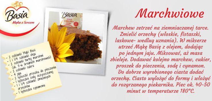 Ciasto marchwiowe www.mojabasia.pl/przepisy.html