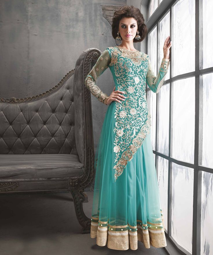 Buy Net Suit With Dupatta online at best price in India @ fashionandyou.com