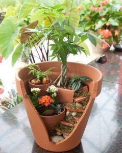 Les 25 Meilleures Id Es De La Cat Gorie Pot De Jardin Cass Sur Pinterest Pots De Jardin De