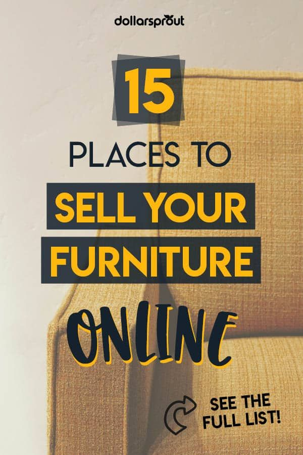 How To Make Extra Money Selling Used Furniture Online Or Locally