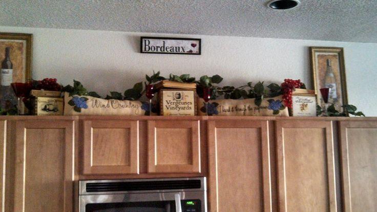 My wine kitchen wine kitchen pinterest wine theme for Vineyard themed kitchen ideas