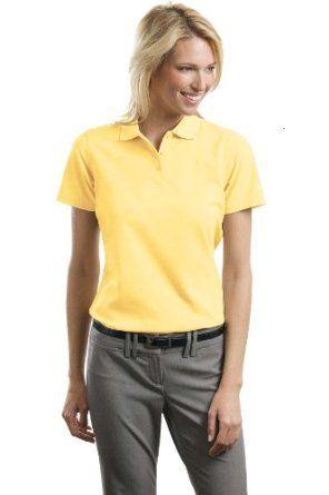 Port Authority - Ladies Stain-Resistant Polo. L510 - Banana_XS Port Authority. $20.28