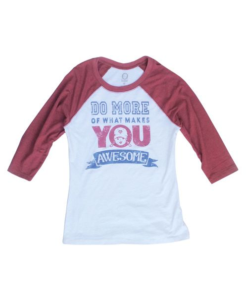 Do More Of What Makes You Awesome T-Shirt | Vintage Style Baseball Tee www.tomboyvintage.com