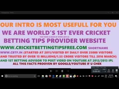 cricket betting tips After super hit BBL video And My Other Videos Like Every Ipl This Year Also Tutorial Video Posted Please Watch And Follow this 43 Minutes …  source   ...Read More