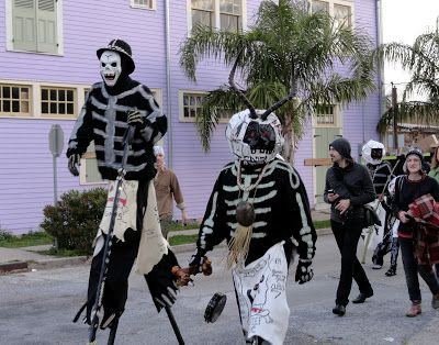 Ramblebrain: Skeletons of Mardi Gras: How the Walking Dead Are Keeping Traditions Alive in New Orleans