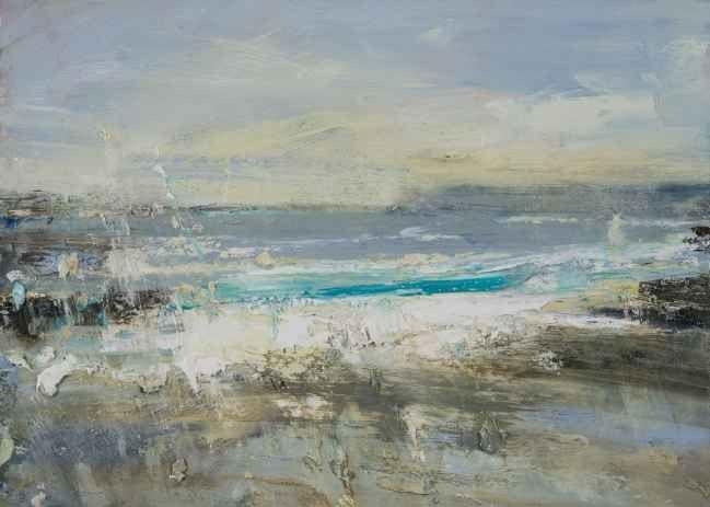 Hannah Woodman - Turquoise Wave, Gwithian