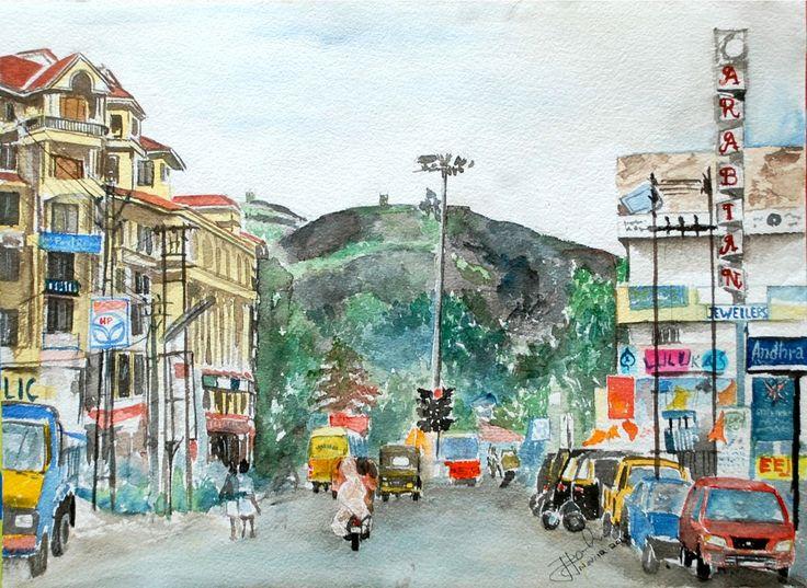 Pathanamthitta Town , Aban Junction, Kerala