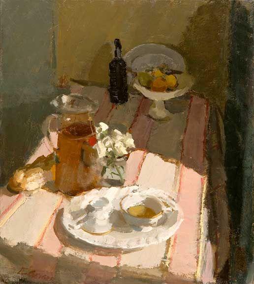 Elizabeth Geiger, Tea and Port