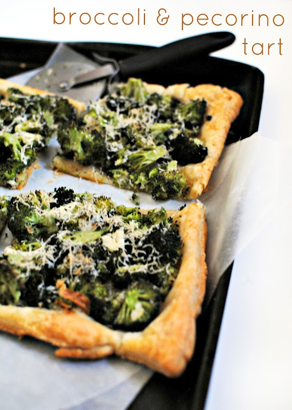 broccoli + pecorino tart} | app.etizing. | Pinterest
