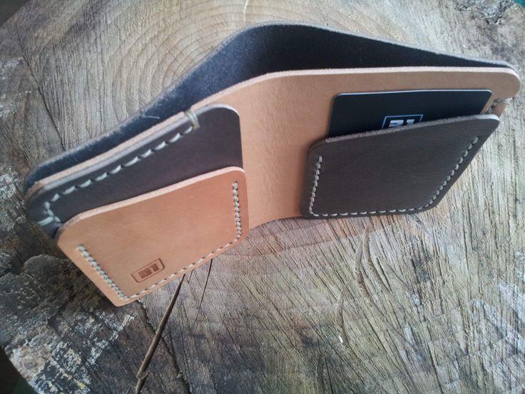 Top view of bi-fold wallet