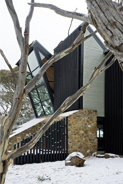 Snow Australia - house at Dinner Plain Village, Mount Hotham, Victoria #snowaus