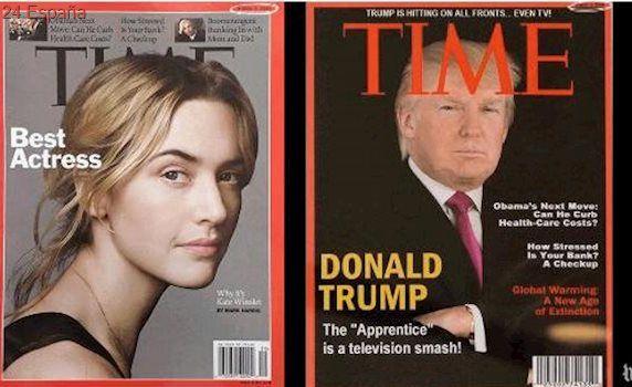 La revista «Time» pide a Trump Organization retirar las portadas falsas que cuelgan en sus clubs