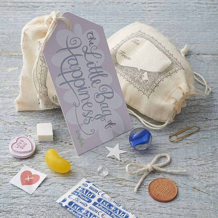 // Little Bag of Happiness // This is cute and something little to cheer you up on a gloomy day! :)
