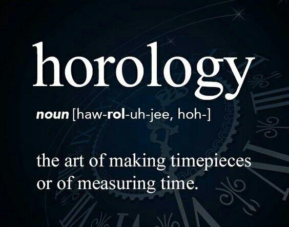 Horology