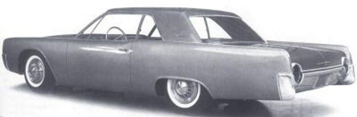 Elwood Engels design proposal for the '61 Thunderbird. He lost out to a design from Alex Tremulis. The then president of the Ford company Robert McNamara liked it so he decided to use the basic design on the new Lincoln Continental instead.