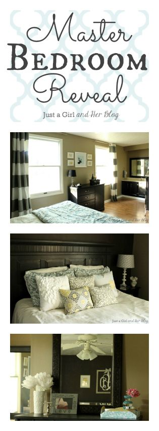 This once-boring bedroom got a beautiful refresh full of simple and stunning DIY projects!   Just a Girl and Her Blog