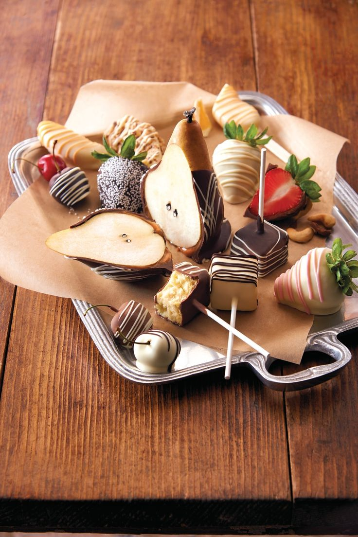 40 best Chocolate-Covered Fruit images on Pinterest | Chocolate ...