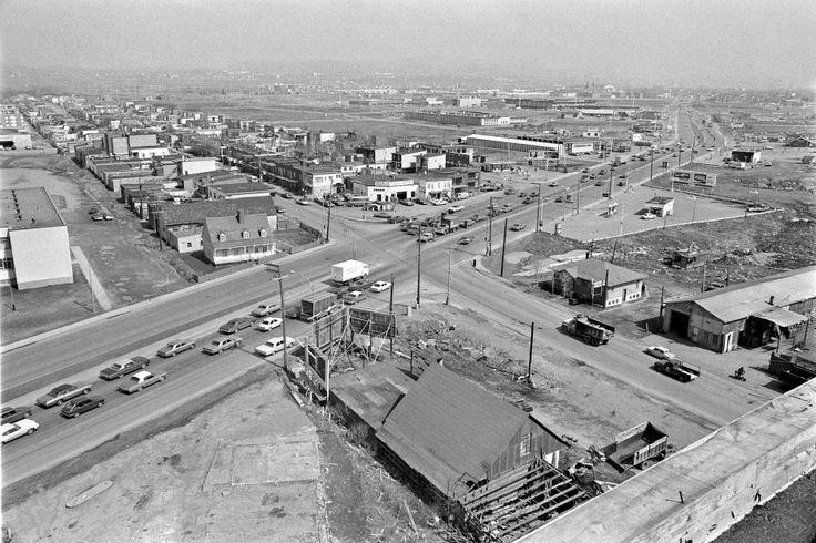 Le coin Hamel et Marie-de-l'Incarnation en 1971