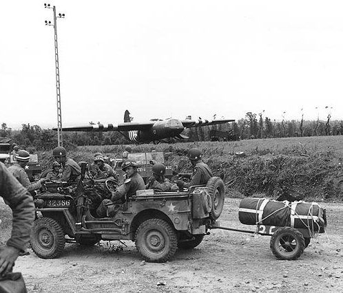 Jeep Normandy 1944