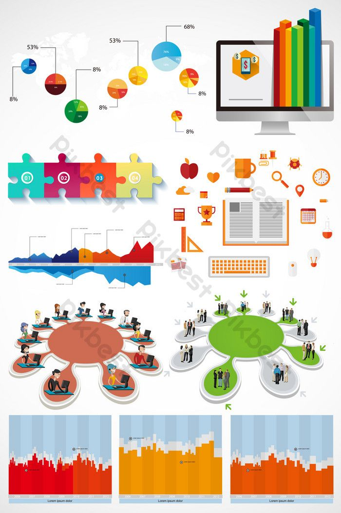 PPT color information sheet element vector icon#pikbest