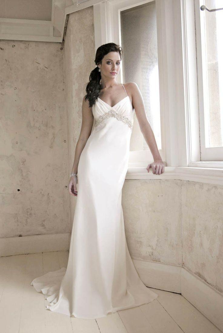 24 best images about Sheath Wedding Dresses on Pinterest | Satin ...