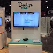 #DesignMine section of our booth! Click through to learn more about our latest #design app.