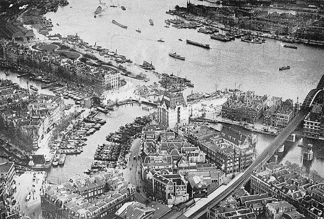 #Rotterdam #1920 #b&w #port