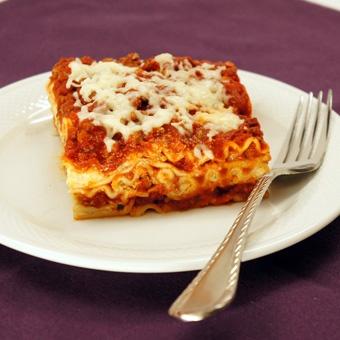 "Easy"" lasagna . . . I'll try it!"
