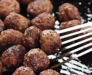 Greek Meatballs Recipe : Michael Symon : Food Network