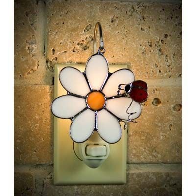 Flowers & Birds Designs - Switchables Stained Glass - Night Lights ...