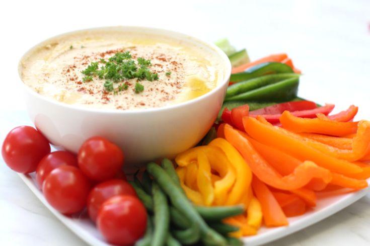 Garlic Hummus — Healthy Always