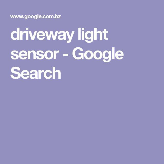 driveway light sensor - Google Search