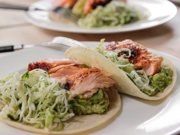 Roasted Salmon Tacos - Ina Garten