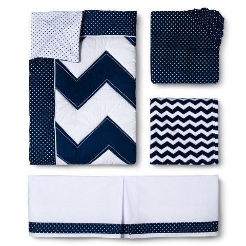 circo geo patchwork 4pc crib bedding set 1