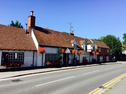 the-hand-and-flowers, Marlow, England