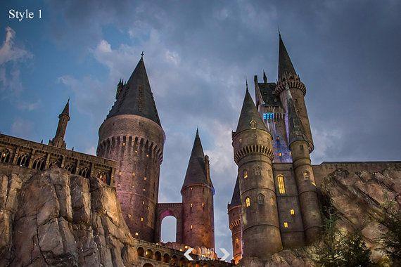 Hogwarts Castle Harry-Potter-Fotografie Gothic von VibrantImaging