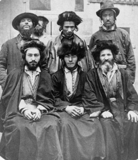 Ashkenazi Jews, 1876. My ancestral background shows .4% of this in my DNA!