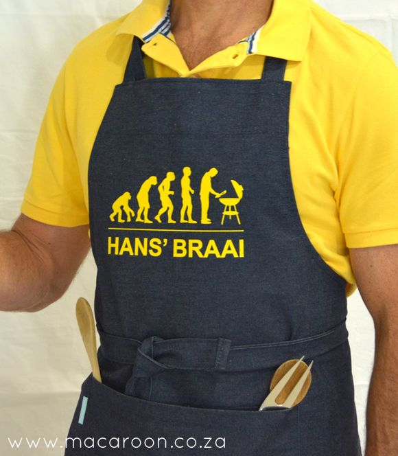 Personalised Braai Apron - Evolution